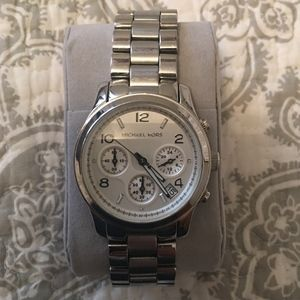 MICHAEL KORS Classic Stainless Steel Silver Watch